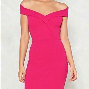 Nasty Gal pink Night out / Party Dress ✨✨✨